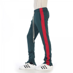 新取扱ブランドEPTM〜エピトミ〜GREEN/RED-JACQUARD PLAID TRACK PANTS