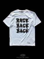 【FLASHBACK18SS最新作】OVERSIZE CheckBOX  BACK Tee WHT