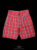 【FLASHBACK18SS最新作】Red Check Shorts