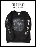 OUTRO-feer de seal- Box Lip Sweat BLK