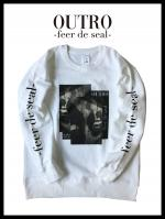 OUTRO-feer de seal- Box Lip Sweat WHT