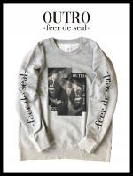 OUTRO-feer de seal- Box Lip Sweat GRY