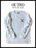 OUTRO-feer de seal- Smoking Lip Long Sleeve Tee WHT