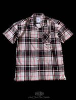 【FLASHBACK19SS最新作】HyperFit OVERSIZE Check short sleeve shirt beiblk