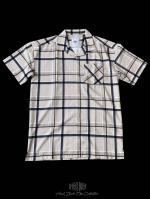 【FLASHBACK19SS最新作】HyperFit OVERSIZE Check short sleeve shirt BEI
