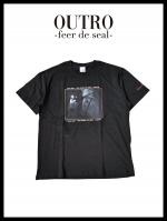 OUTRO-feer de seal- Smoking Rose Lady Tee BLK