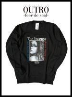 OUTRO-feer de seal- Incense Lady Sweat shirt BLK