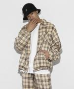 LEGENDA Over Sized TR Check Blouson