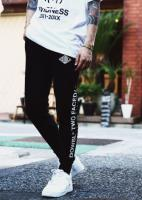 DOWBL Two Face Rhombus Skinny Sweat Pants