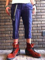 FLASH BACK  Retro Stripe Cropped Pants
