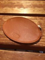 FLASHBACK TOCHIGI Leather Brass ZIP Coin Case