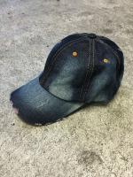 FLASHBACK最新作Hard Damage Denim 6Panel CAP