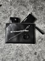 【FLASHBACK最新作】JAPANMADE Chrome Leather Westrtn Clutch Bag.