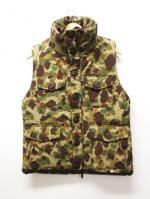 Thinsulate Parachute Vest-CAMOUFLAGE-