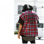 【SALE 30%OFF】【BLACK FLAME CLASSIC(ブラックフレイムクラシック)】RING ZIP CHECK SH