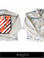【BALLETA17AW】Over Size Denim Remake JKT Bleach