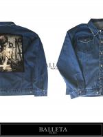 BALLETA17AW】Over Size Denim Remake JKT  INDIGO