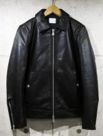 【先行予約12月入荷商品】Single Leather Collared Jacket