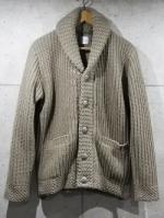 【先行予約12月入荷商品】Shawl Collar Knit Cardigan-BEIGE-