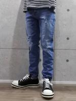【先行予約1月入荷商品】Regular Straight Denim-L.INDIGO-